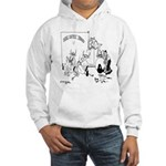 Cows on Coffee Break Hooded Sweatshirt