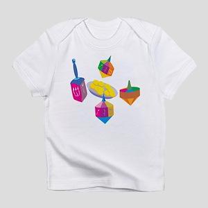 Hanukkah Design for Kids Infant T-Shirt