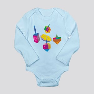 Hanukkah Design For Kids Body Suit