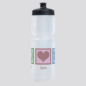 Peace Love 13.1 Sports Bottle