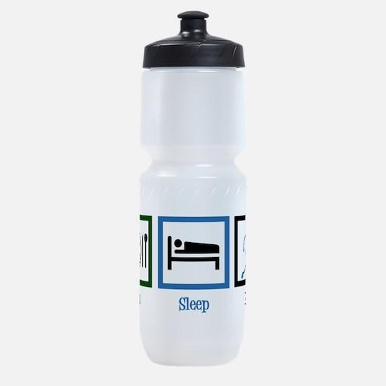 Eat Sleep Run Sports Bottle