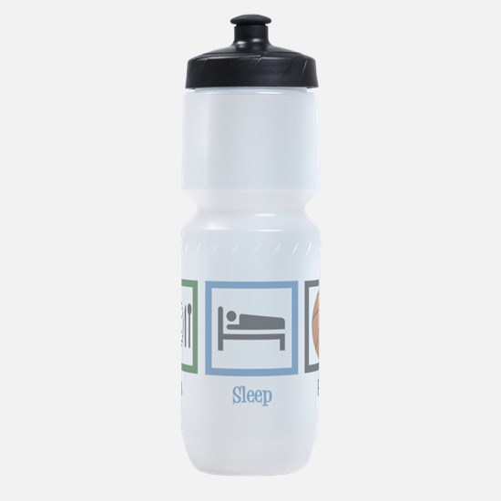 Eat Sleep Basketball Sports Bottle