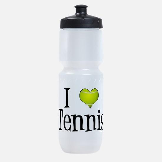 I Heart Tennis Sports Bottle