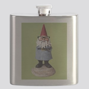 Hipster Garden Gnome with Eyeglasses Nerd Kitsch F