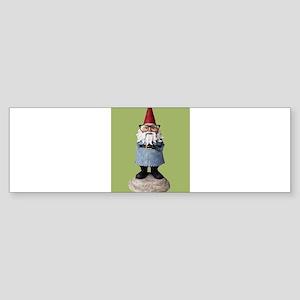 Hipster Garden Gnome with Eyeglasses Nerd Kitsch B