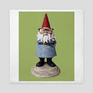 Hipster Garden Gnome with Eyeglasses Nerd Kitsch Q