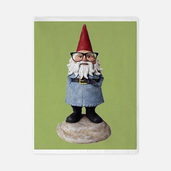 Hipster Garden Gnome with Eyeglasses Nerd Kitsch T