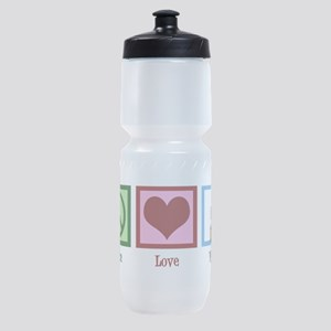 Peace Love Violin Sports Bottle