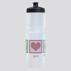 Peace Love Guinea Pigs Sports Bottle
