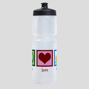 Peace Love Ducks Sports Bottle