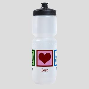 Peace Love 50 Sports Bottle