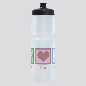 Peace Love 21 Sports Bottle
