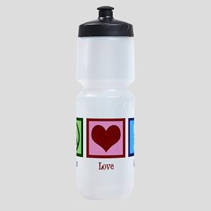 Peace Love Milk Sports Bottle