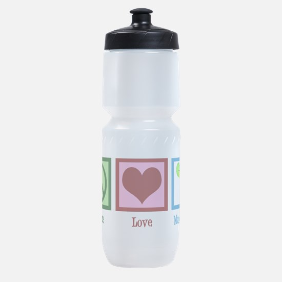 Peace Love Margaritas Sports Bottle