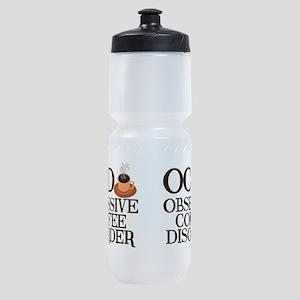 Funny Coffee Sports Bottle