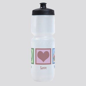 Peace Love Therapy Sports Bottle