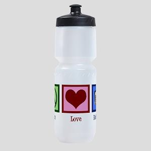 Peace Love Radiology Sports Bottle