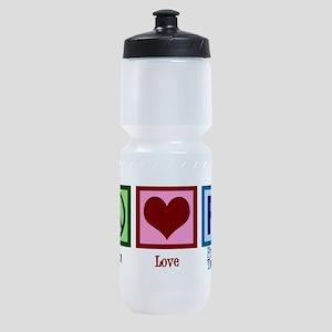 Peace Love PT Sports Bottle