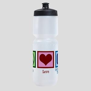 Peace Love OT Sports Bottle