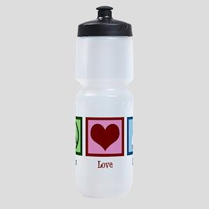 Peace Love Cook Sports Bottle