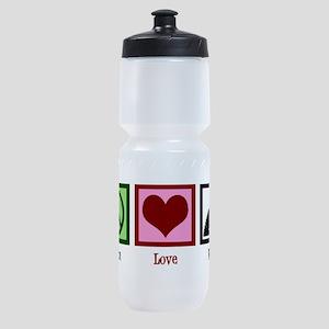Peace Love Film Sports Bottle