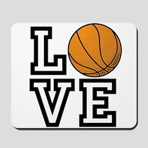 Love Basketball Mousepad