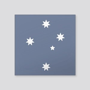 Southern Cross Stars Square Sticker 3&Quot; X 3&Qu