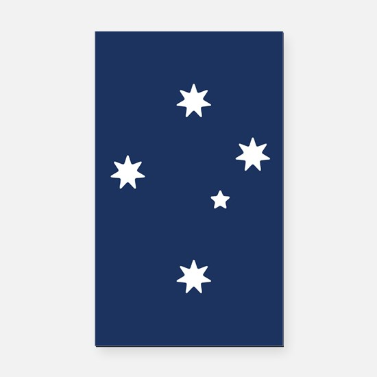 Southern Cross Stars Rectangle Car Magnet