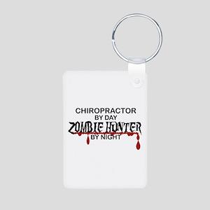 Zombie Hunter - Chiropractor Aluminum Photo Keycha