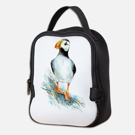 Puffin.Png Neoprene Lunch Bag
