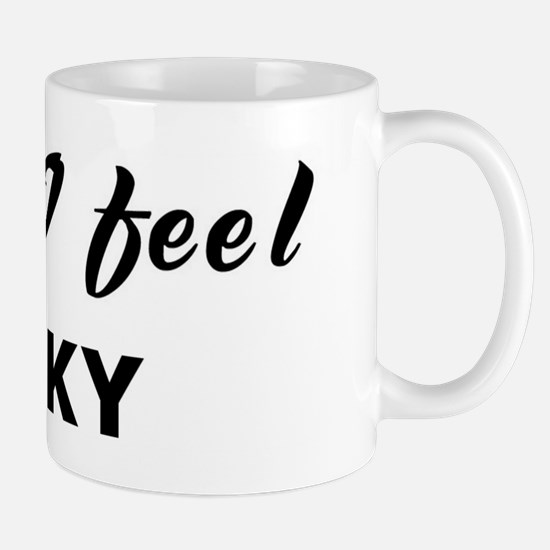 Today I feel lucky Mug