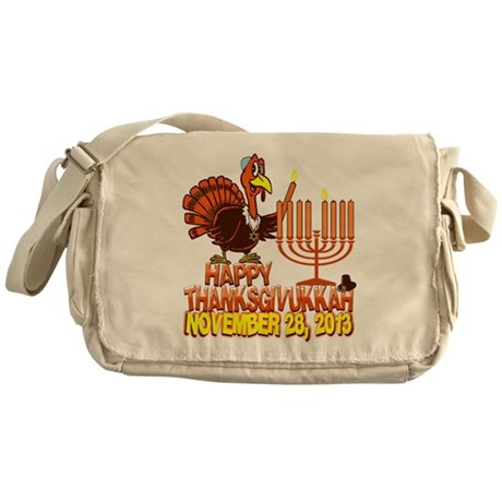 Happy Thanksgivukkah Messenger Bag