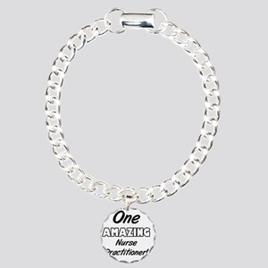 One Amazing Nurse Practi Charm Bracelet, One Charm