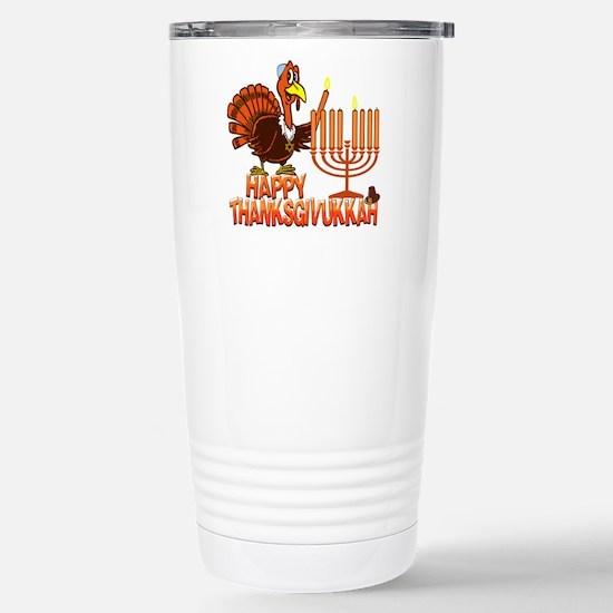Happy Thanksgivukkah Travel Mug