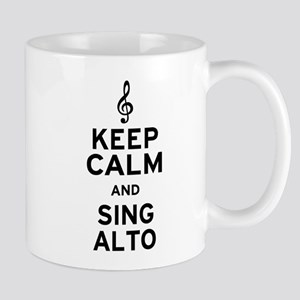 Keep Calm Sing Alto Mug