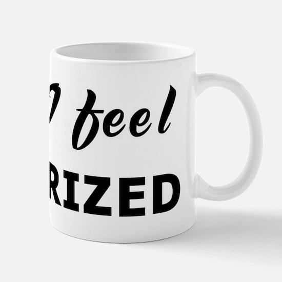 Today I feel pulverized Mug
