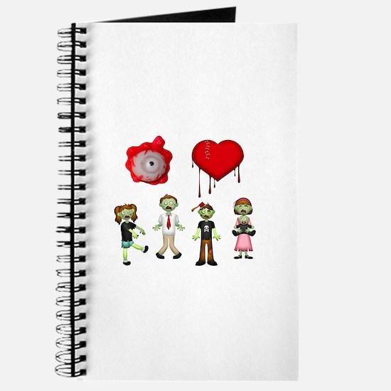 Eye Heart Zombies Journal