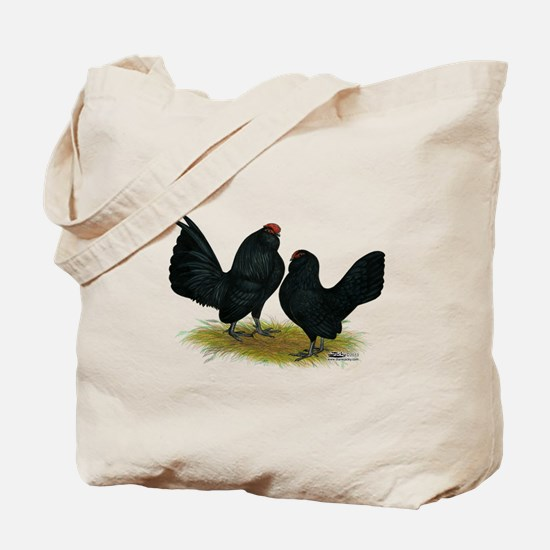 DAnvers Black Bantams Tote Bag