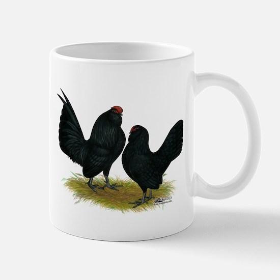 DAnvers Black Bantams Mugs