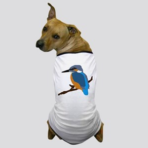 kingfisher bird waiting for love peace joy Dog T-S