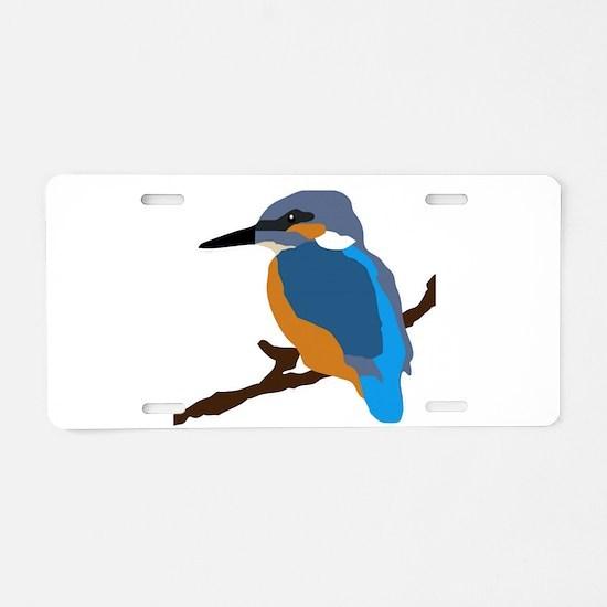 kingfisher bird waiting for love peace joy Aluminu