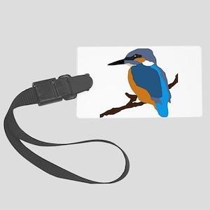 kingfisher bird waiting for love peace joy Large L