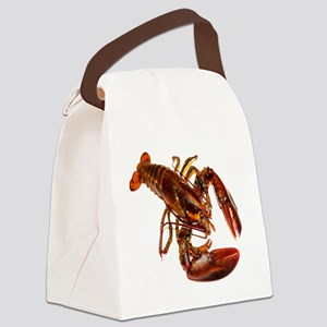 lobster confidence and peace Canvas Lunch Bag