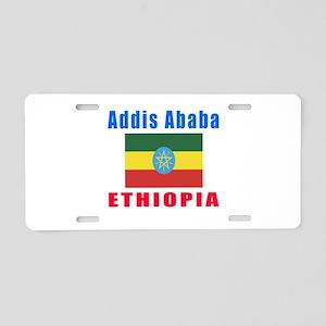 Addis Ababa Ethiopia Designs Aluminum License Plat
