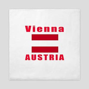 Vienna Austria Designs Queen Duvet