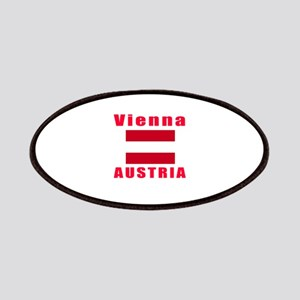 Vienna Austria Designs Patches
