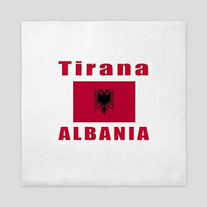 Tirana Albania Designs Queen Duvet