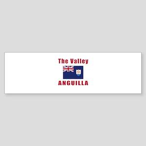The Valley Anguilla Designs Sticker (Bumper)