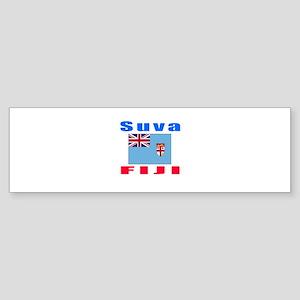 Suva Fiji Designs Sticker (Bumper)
