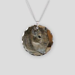 Degu001 Necklace Circle Charm